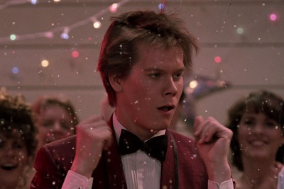 Kevin Bacon in Footloose. Photo courtesy of Hollywood Theatre.