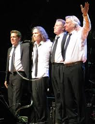 Glenn Frey (l) and the Eagles.