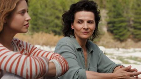 """Lou de Laage and Juliette Binoche star in """"L'Attesa."""""""