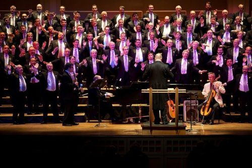 Portland Gay Men's Chorus performs Saturday at Schnitzer Hall. 2010 photo