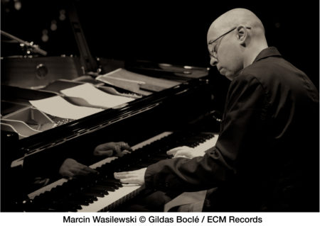 Martin Wasilewski leads his jazz trio at Polish Hall. Photo: ECM records