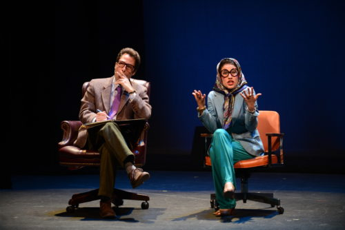 """""""Falsettos"""" at Live On Stage: a PAMTA best-production nominee."""