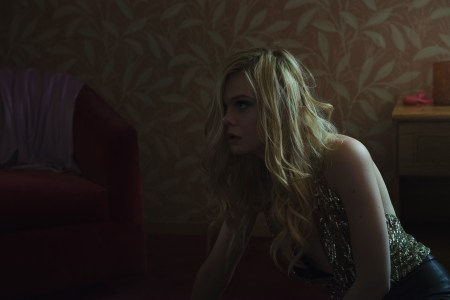 "Elle Fanning in a scene from Nicolas Winding Refn's ""The Neon Demon."""