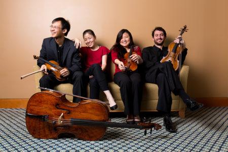 The Zora Quartet./Photo by Josef Samuell