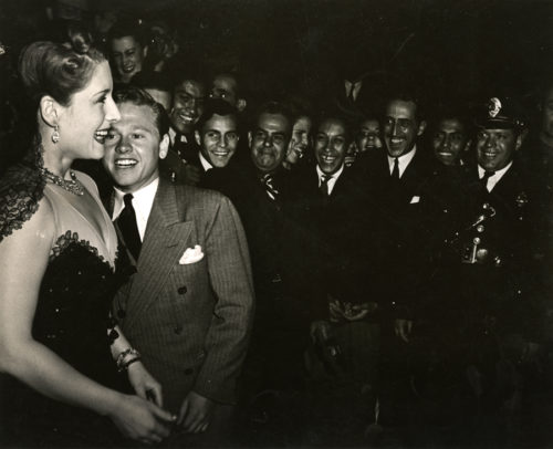 """Goodwill Fiesta Farewell Gala: Moira Shearer and Mickey Rooney, Mexico City,"" photo by Katherine Joseph, 1941; © Richard Hertzberg and Suzanne Hertzberg; photograph courtesy of the Archives Center, National Museum of American History, Smithsonian Institution"