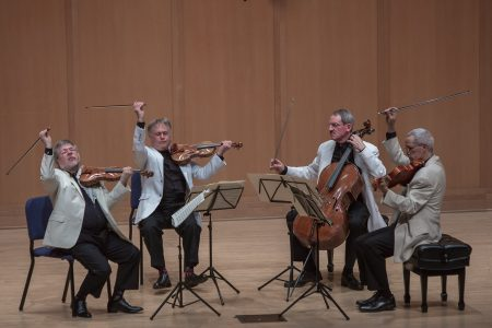 The Orion Quartet performed at Chamber Music Northwest. Photo: Tom Emerson.