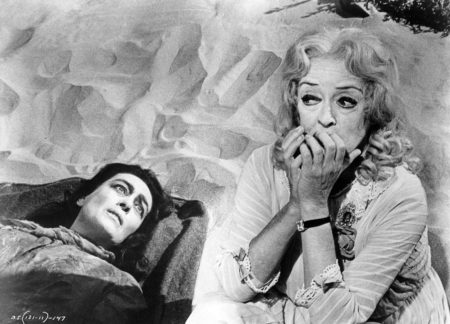 """Joan Crawford and Bette Davis in """"What Ever Happened to Baby Jane?"""""""