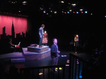 Scene from OCT production of Adam Gwon's 'Ordinary Days.'