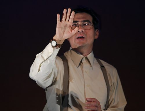"Ryun Yu as Gordon Hirabayashi in ACT Theatre's 2015 Seattle production of ""Hold These Truths."" He repeats the role in Portland. Photo: Chris Bennion"