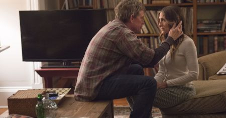 """Thomas Hayden Church and Sarah Jessica Parker in HBO's """"Divorce""""/Courtesy HBO"""