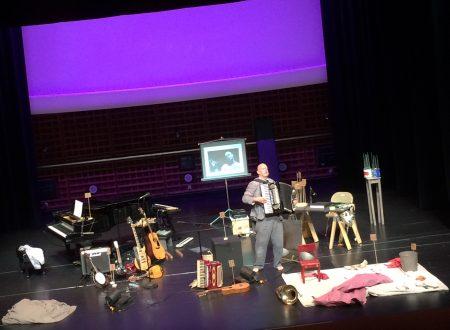 Rinde Eckert performed at Portland's TBA festival.