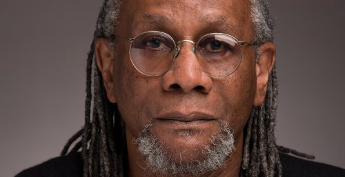 Nathaniel Mackey, the Reynolds Price Professor of Creative Writing at Duke University, spoke at Reed College this week.