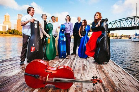 Portland Cello Project celebrates its 10th anniversary Friday. Photo: Jason Quigley.