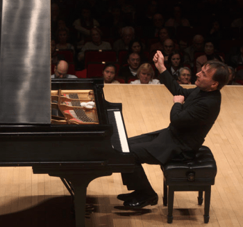 Stephen Hough plays in Eugene and Portland. Photo: Hiroyuki Ito.