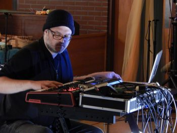 Derek Ecklund performed at Creative Music Guild's Extradition Series show.