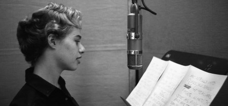 King in the studio in the 1960s.