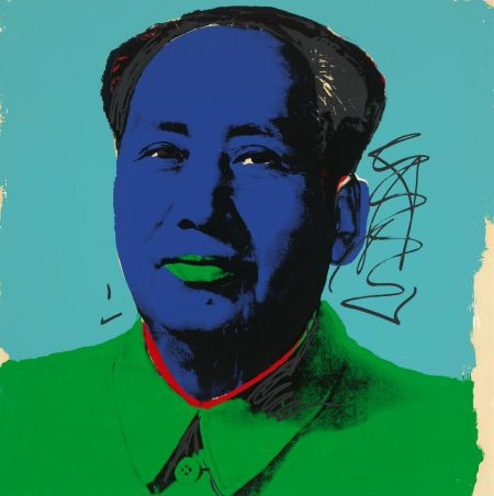 Andy Warhol (American, 1928–1987). Mao (II.91), 1972. Screenprint. 36 x 36 in. Courtesy of Jordan D. Schnitzer and His Family Foundation. © 2016 The Andy Warhol Foundation for the Visual Arts, Inc. / Artists Rights Society (ARS), New York