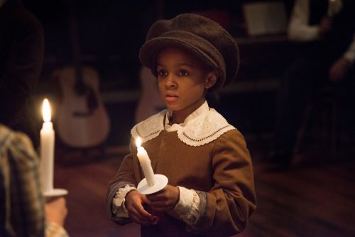 "A light in the darkness: Portland Playhouse's ""A Christmas Carol."" Photo: Brud Giles"
