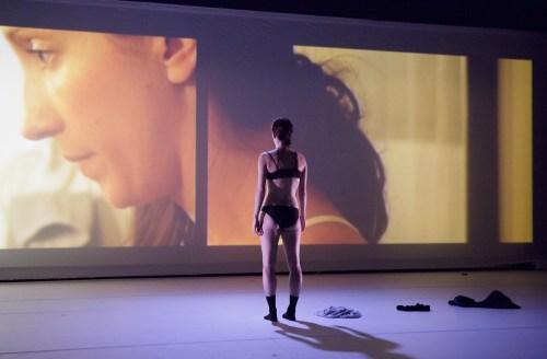 "Katie Scherman+Artists performing Scherman's ""Complicated Women"" (2016) at BodyVox Dance Center, Portland, Oregon, March 22, 2018/Photo by Blaine Truitt Covert"