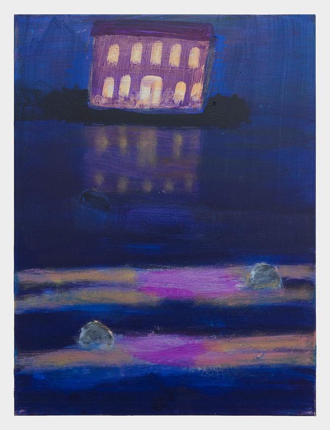 Katherine Bradford's luminous nocturnes   Oregon ArtsWatch