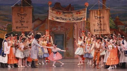 "New York City Ballet's ""Coppélia"": Who's real, who's a doll? Photo © Paul Kolnik"