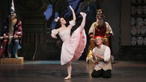 """Megan Fairchild in New York City Ballet's """"Coppélia."""" Photo © Paul Kolnik"""