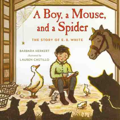 "Herkert's latest book is ""the story of a shy boy who loved animals and became one of the most beloved children's authors of all time."""