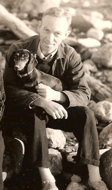 "E.B. White found subject matter for his essays in the recalcitrant dachshunds he owned. ""I would rather train a striped zebra to balance an Indian club,"" he wrote, ""than induce a Dachshund to heed my slightest command."""