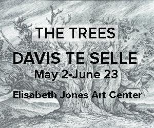 Elisabeth Jones Art Center The Trees Davis Te Selle May 2-June 23, 2019