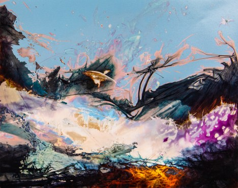 """Flight"" by Rachel Wolf (chromogenic chemigram - archival digital print)"