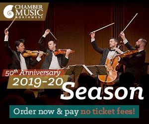 Chamber Music Northwest 2019-20 Season Subscriptions