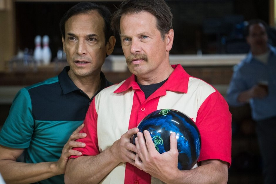 """""""Phoenix, Oregon,"""" stars Jesse Borrego (left) and James LeGros as friends who quit their jobs to restore an old bowling alley and serve the """"world's greatest pizza.""""  It plays Oct. 28."""