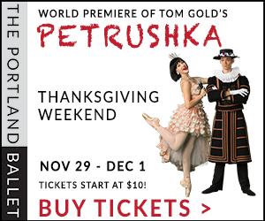 The Portland Ballet Petrushka Firebird Stravsinky
