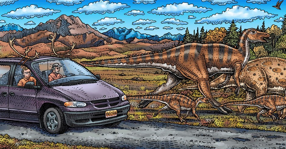 In their book, Johnson and Troll recount their fossil-hunting road trips along the Pacific Coast.