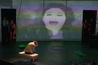 """PSU Opera staged the new opera """"Mirror Game."""" Photo by Joe Cantrell."""