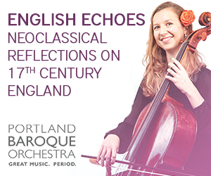Portland Baroque Orchestra English Echoes
