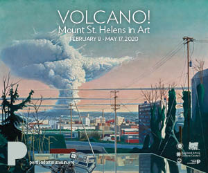 Portland Art Museum Volcano!