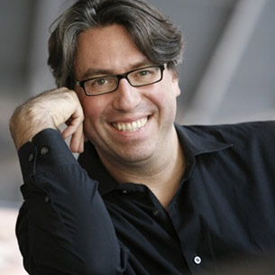 Composer/conductor Julian Wachner, one of three finalists in OBF's ad search. Photo courtesy of the conductor.