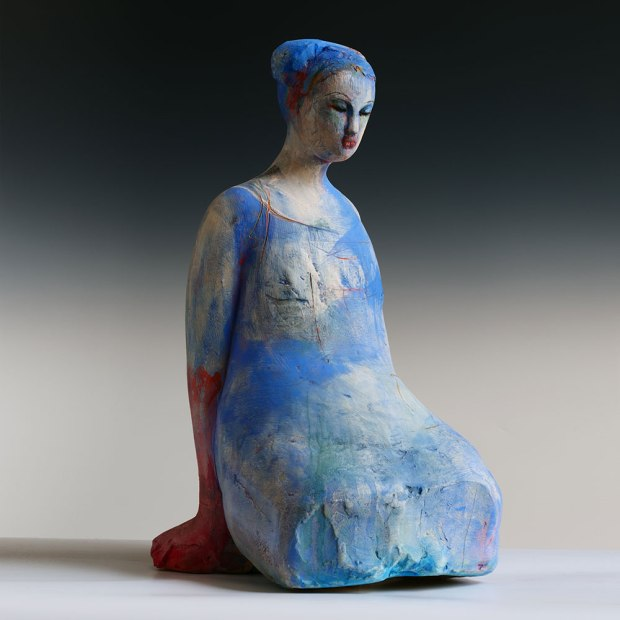 """Sculptural artist Michelle Gregor's work focuses on the human form. """"The figure has served as the best method of transportation throughout my many years of practice….,"""" she says. """"As a source, it seems infinite."""""""