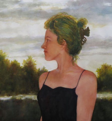 """""""To What Future,"""" by Maria Berg, is among the featured works in the Watercolor Society of Oregon's show in the Chehalem Cultural Center in Newberg."""