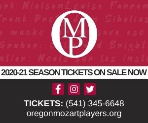 Oregon Mozart Players 2020-2021 season tickets