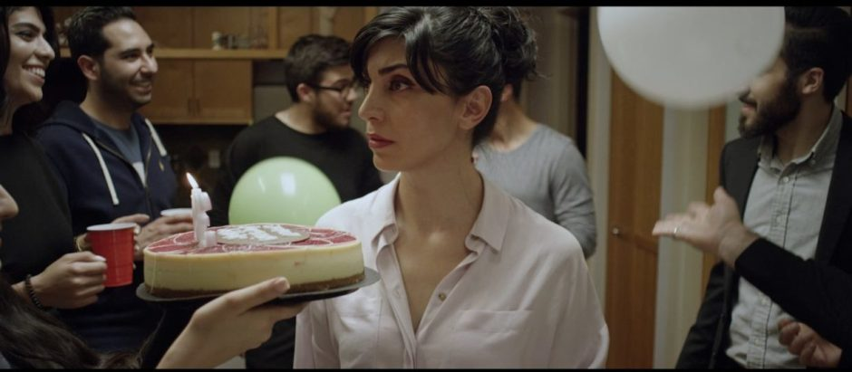 "Elnaz Resaei plays Nahal, recipient of a surprise birthday party, in ""We Were There,"" a film by Saeed Vahidi and a 2020 award-winner at the McMinnville Short Film Festival. Photo courtesy: McMinnville Short Film Festival"