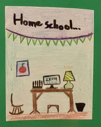 Home school was the year's most memorable event for Kael S.