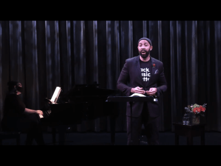 Bass-baritone Damien Geter performs with Kira Whiting.
