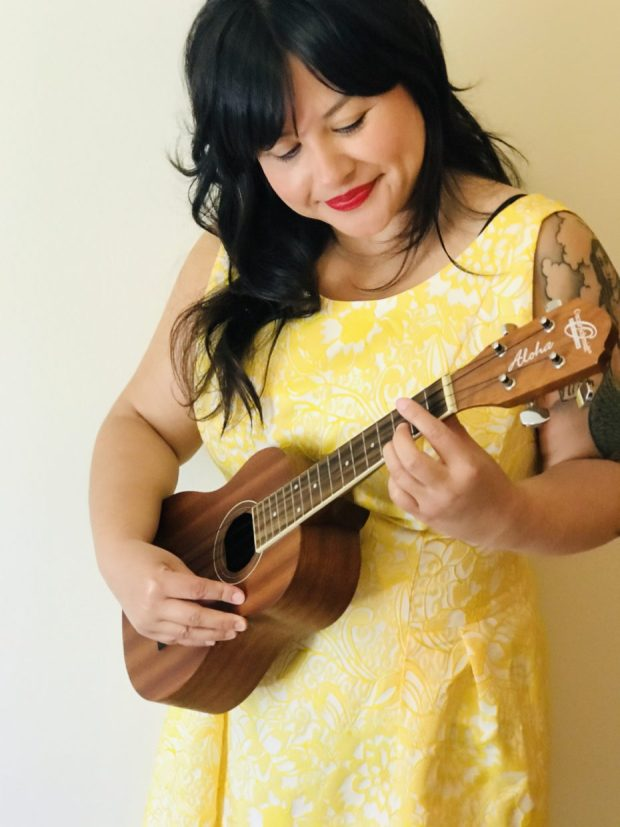 Crystal Akins, founder of the nonprofit Activate Arts, plans to use a $1,300 grant from the Lincoln County Cultural Coalition to buy dozens of ukuleles.