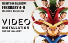 BodyVox Video Installation pop-up gallery