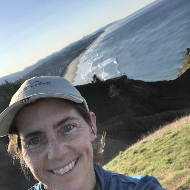 With her series of hikes, Niki Price hopes to raise awareness both of the Oregon Coast Public Art Trail and the fundraising campaign for the Lincoln City Cultural Center's plaza.