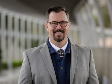 """""""For arts organizations to thrive, they have to have relevance in the community,"""" says Jason Holland, the new executive director of the Oregon Coast Council for the Arts. """"I can tell this organization has been stewarded over the years. That makes it exciting to come into."""""""