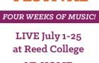 Chamber Music Northwest Summer Festival 2021