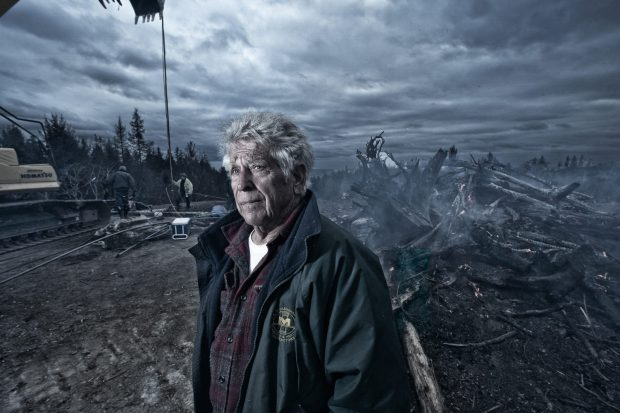 """Clackamas County photographer Bruce MacGregor is documenting 2020's devastating wildfires in """"The Aftermath Project."""" This is: """"Duane. NW Highland Road. Lincoln City, Oregon April, 2021."""""""
